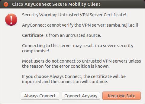 Samba VPN - troubleshooting